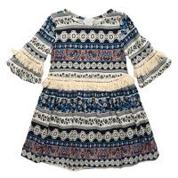 女童夏装3连衣裙童装4新款女孩雪纺5宝宝洋气6岁儿童公主裙子
