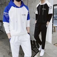 初中学生13男孩14春季15韩版潮流16运动卫衣套装18岁青少年两件套