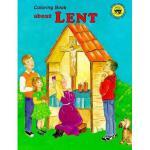 【预订】Coloring Book about Lent