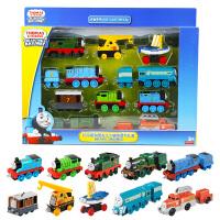新年礼物托马斯和朋友之十辆装勇气礼盒合金小火车礼盒装 FGW48