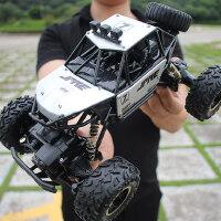 超大rc遥控汽车越野车四驱高速攀爬赛车无线男孩子充电儿童玩具车