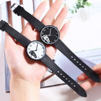 新款韩版小清新手表女时尚简约可爱中学生儿童石英表