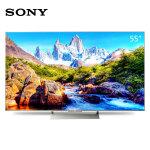 索尼 (SONY)KD-55X9000E 55英寸 4K HDR 精锐光控Pro 安卓6.0智能液晶电视(银色)