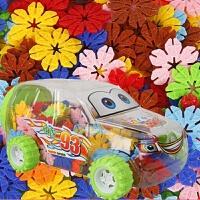 雪花片积木 汽车盒拼装积木益智玩具 儿童塑料积木 益智拼插