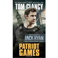 【中商原版】爱国者游戏(电影版)英文原版 Patriot Games Tom Clancy Berkley Books