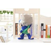 火影忍者毛绒玩具公仔漩涡鸣人卡卡西佐助玩偶小男孩生日礼物玩具 30cm