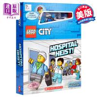 【中商原版】乐高城市:配玩具 LEGO City 益智游戏书 低幼童书 亲子绘本 LEGO系列 5~10岁 Schola