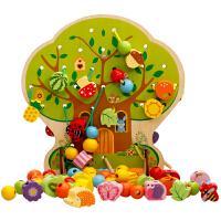 儿童早教串珠6一12个月婴幼益智玩具男孩女宝宝积木0-1-2岁-3周岁