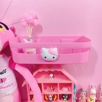 粉色可爱卫生间置物架洗漱用品储物架浴室洗手间厕所塑料收纳架 粉红置物架