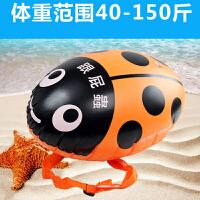 游泳装备 浮漂 加厚浮力球充气救生浮筒 跟屁泳圈成人儿童