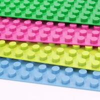 积木拼装玩具大颗粒积木拼装儿童积木大底板