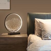 北欧现代台灯床头客厅艺术摆件灯具护眼LED创意灯