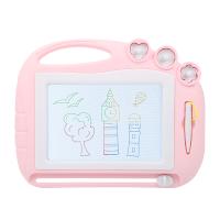 小孩写字宝宝1-3岁2彩色画画可擦儿童画板磁性涂鸦板