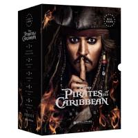 迪士尼英文原版.加勒比海盗1-5部(套装共5册)