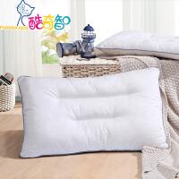 【�_�W季】富安娜家� 酷奇智�棉提花枕芯 新型抗菌�w�S填充�和�款/�W生款�m用枕�^