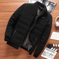 爸爸装冬季保暖外套加绒加厚中年男士棉衣40老年棉袄50岁秋冬