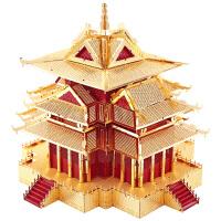 3D立体拼图模型拼装玩具古建筑模型故宫角楼手工儿童