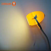 【618限时特惠】欧司朗飞行蛋创意夹灯 学习阅读台灯 创意学生宿舍护眼夹灯