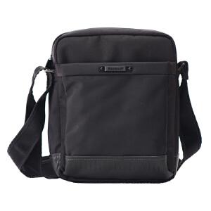 卡拉羊单肩包斜跨包男随身包商务包休闲包男包ipad包C4574