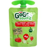 法国GoGo SqueeZ水果泥原装进口五种口味婴儿辅食果泥宝宝吸吸乐