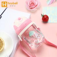 重力球幼儿园喝水壶 儿童学饮杯宝宝水杯吸管杯婴儿