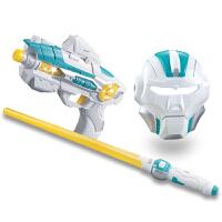 3-8岁儿童电动玩具枪声音灯光光剑面具套装男孩