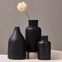 创意陶瓷花瓶客厅摆件创意简约办公室装饰品