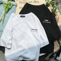 小动物管理员韩版情侣装夏装短袖T恤女创意半袖体恤学生班服