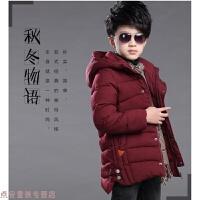 冬季男孩子13男童装11冬天外套5冬季6冬装7小孩子9岁棉衣服装棉袄儿童秋冬新款
