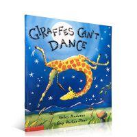 英文原版绘本 长颈鹿不会跳舞 Giraffes Can't Dance 儿童图书
