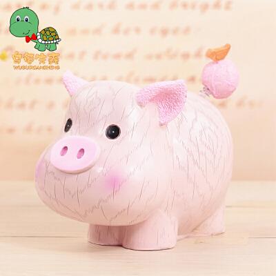 【年货节 回馈价再享8折】乌龟先森 十二生肖存钱罐猪 生日礼品创意树脂摆件【支持礼品卡】