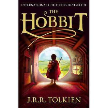�J��R�_英文原版 the hobbit. j.r.r. tolkien 霍比特人(儿童封面版)