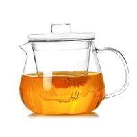 茶壶压嘴内胆 带盖耐热玻璃凉水壶 豆浆壶 果汁壶450ML