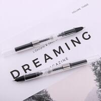 成田良品 Narita 万年笔无印风格学生钢笔EF尖细钢笔透明示范钢笔硬笔练字钢笔