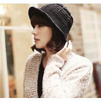 时尚冬季新款可爱 韩国版针织渔夫帽盆帽