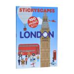 Stickyscapes London贴纸伦敦书 一公尺长卷街景图,现代和历史2大场景