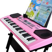 宝贝儿童电子琴1-3-6岁多功能音乐益智儿童电子琴1-3-6岁音乐初学女孩玩具宝宝钢琴
