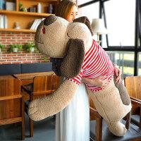 毛绒玩具创意狗抱枕趴趴狗可爱玩偶公仔女生日礼物大号娃娃可拆洗