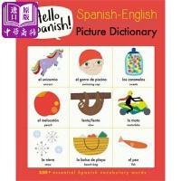 【中商原版】Spanish-English西班牙-英语图典 原版进口语言学习