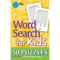 【预订】USA Today Word Search for Kids: 50 Puzzles