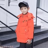 冬季男童羽绒服韩版短款冬装中小童连帽儿童宝宝外套秋冬新款