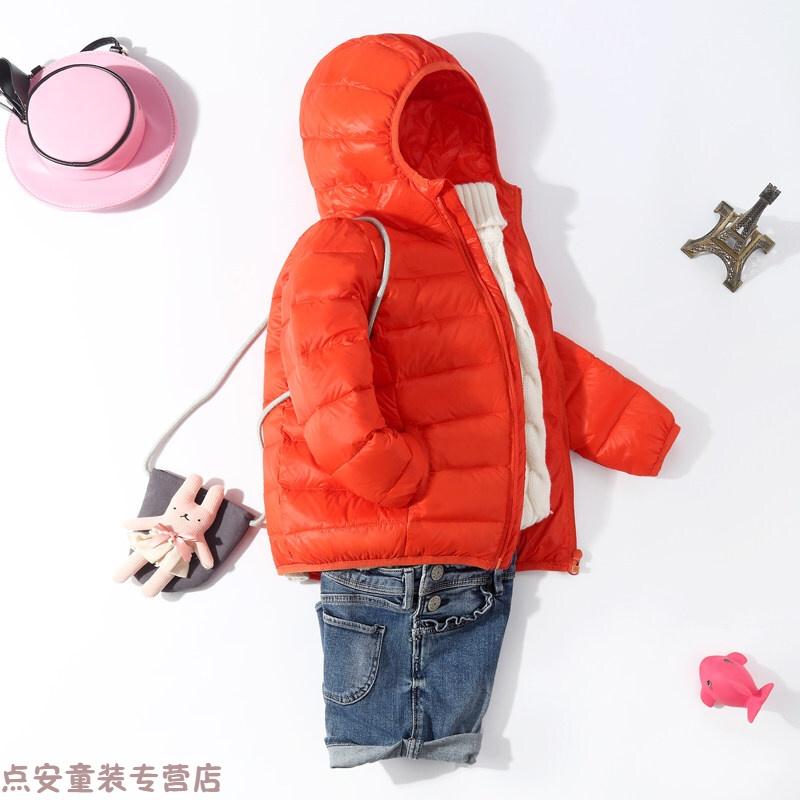冬季新款儿童羽绒服男童女童轻薄短款宝宝童装冬季外套中大童小孩秋冬新款 发货周期:一般在付款后2-90天左右发货,具体发货时间请以与客服协商的时间为准