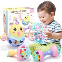 婴儿玩具3--12个月智力可咬男女宝宝手摇铃0-1岁手抓球