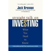 【预订】Straight Talk On Investing: What You Need To Know