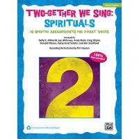 【预订】Two-Gether We Sing Spirituals: 10 Spirited