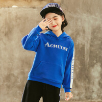 2019 女童套装冬款加绒新款中大童韩版儿童运动休闲两件套