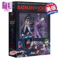 【中商原版】蝙蝠侠和小丑收藏套装(附手办)英文原版 Batman and the Joker Plus Collect