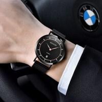 2018新款薄手表男学生简约潮流休闲瑞士非机械