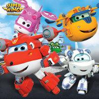 超级飞侠乐迪超级装备多多小爱米莉大号变形机器人玩具套装全套