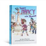 进口英文原版书 Fancy Nancy At The Museum 漂亮的南茜在博物馆 儿童启蒙早教睡前英语读物 小学